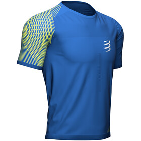 Compressport Performance SS Tshirt Men, niebieski